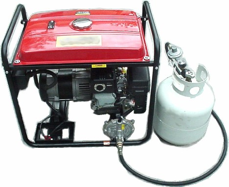 Gasoline Propane Natural Gas Generator